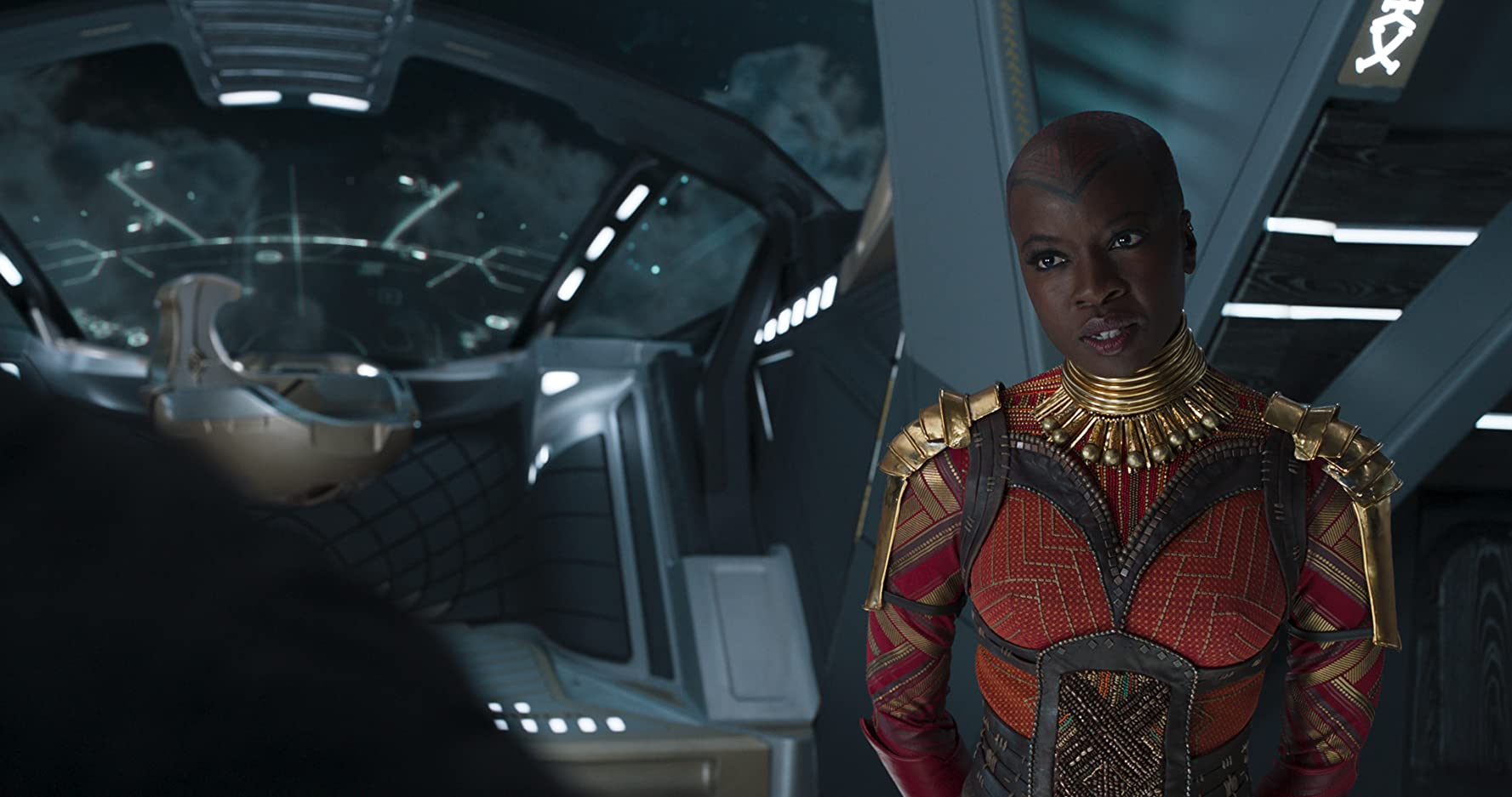 The remarkable femininity of Okoye