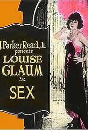 Sex(1920) Poster - Movie Forum, Cast, Reviews
