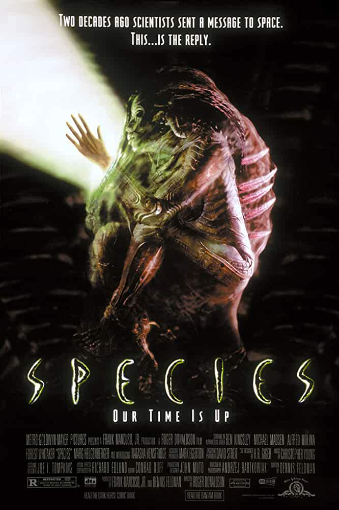 (18+) Species 1995 UnRated 720p BRRip Dual Audio Watch Online Free Download