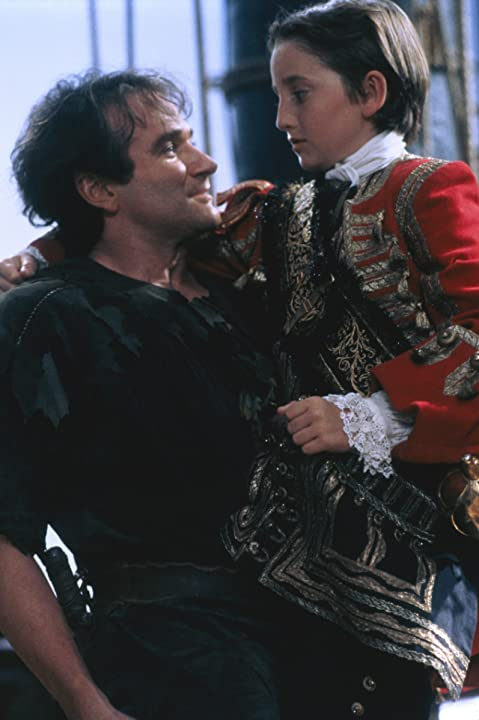 Robin Williams and Charlie Korsmo in Hook (1991)