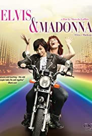 Elvis & Madona Poster