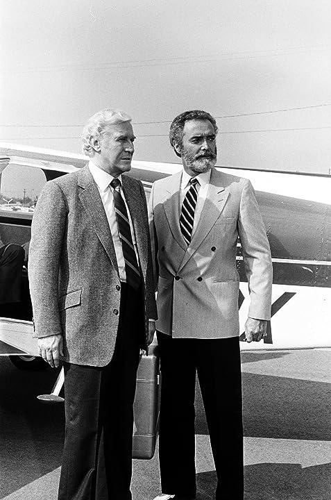 John Considine and Edward Mulhare in Knight Rider (1982)