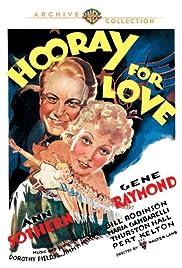 Hooray for Love Poster