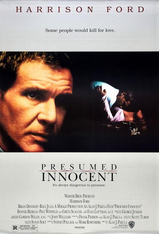 Presumed Innocent Poster