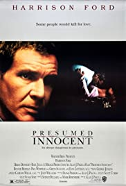 presumed innocent poster - Presumed Innocent Movie