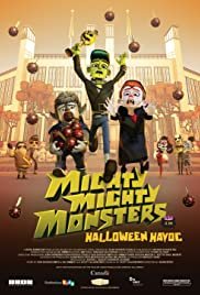 Mighty Mighty Monsters in Halloween Havoc Poster