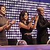 Paula Abdul, Travis Payne, and Kimberly Wyatt in Live to Dance (2011)