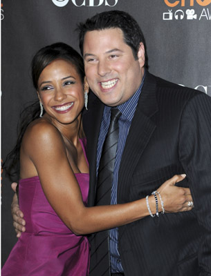 Greg Grunberg and Dania Ramirez at an event for The 36th Annual People's Choice Awards (2010)