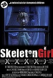 Skeleton Girl Poster