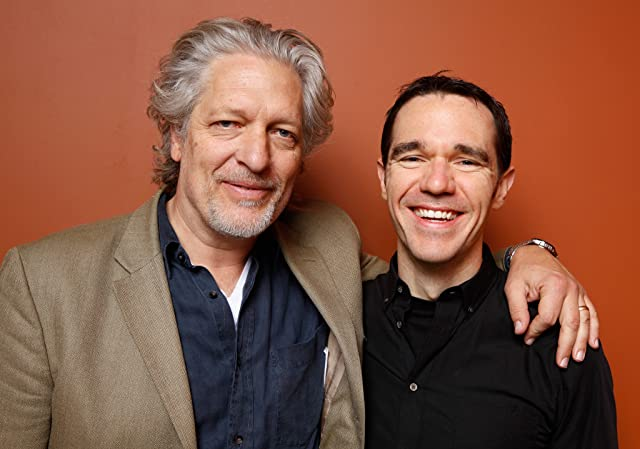 Clancy Brown and J.T. Petty at Hellbenders (2012)