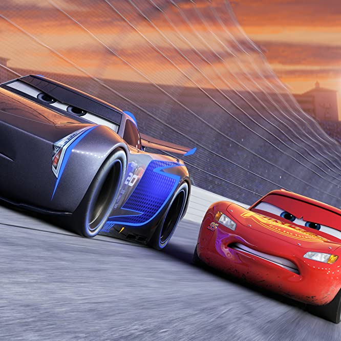 Owen Wilson and Armie Hammer in Cars 3 (2017)