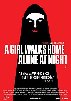 Picture of A Girl Walks Home Alone at Night