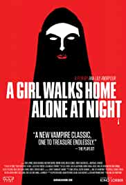 A Girl Walks Home Alone at Night Locandina del film