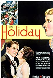 Holiday (1930) Poster - Movie Forum, Cast, Reviews