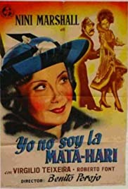 Yo no soy la Mata-Hari Poster