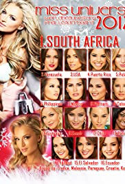Miss Universe 2012 Poster