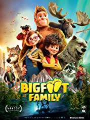 Bigfoot Family (2020) poster