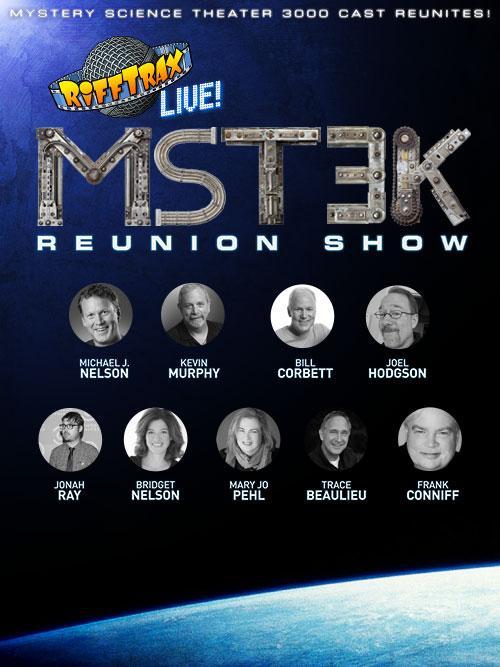 image RiffTrax Live: MST3K Reunion (2016) (V) Watch Full Movie Free Online