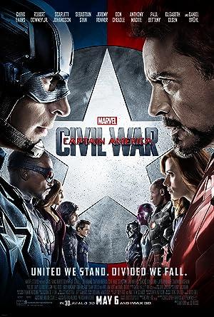 Poster The First Avenger: Civil War