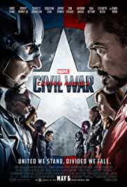 Captain America Civil War 2016 BluRay 720p 1.2GB Hindi DD 5.1 ESubs MKV
