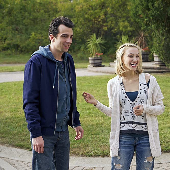 Jay Baruchel and Sarah Gadon in Man Seeking Woman (2015)
