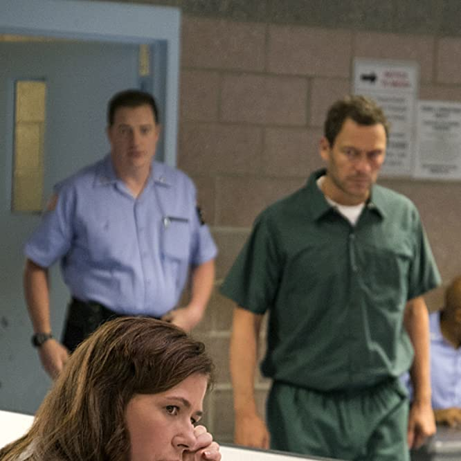 Brendan Fraser, Maura Tierney, and Dominic West in The Affair (2014)