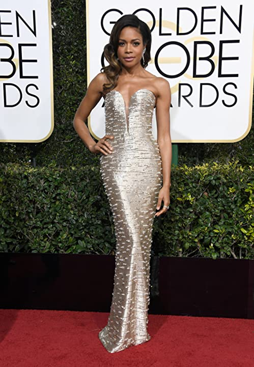 Naomie Harris at an event for The 74th Golden Globe Awards (2017)