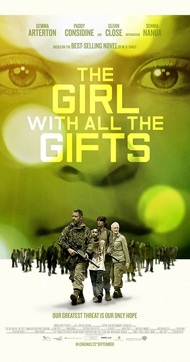 Naujoji karta Z / The Girl with All the Gifts (2016)
