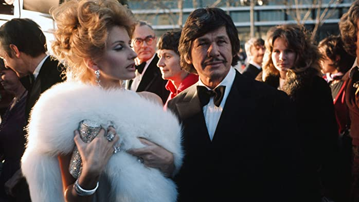 Charles Bronson and Jill Ireland at an event for The 46th Annual Academy Awards (1974)