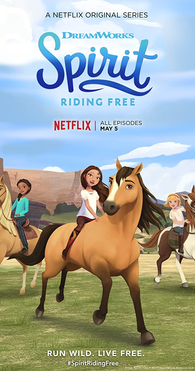 Spirit riding free tv series 2017 imdb - Comment dessiner spirit ...