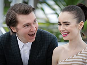 Paul Dano and Lily Collins