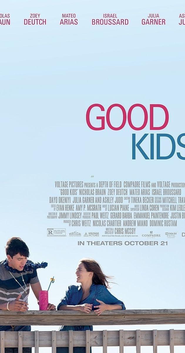 Pirmų kartų vasara / Good Kids (2016) Online