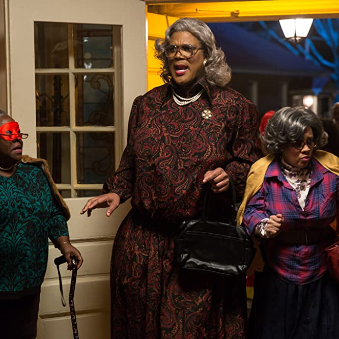 Cassi Davis, Tyler Perry, and Patrice Lovely in Boo! A Madea Halloween (2016)