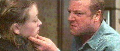 The War Zone: Lara Belmont, Ray Winstone face off in an intense moment.