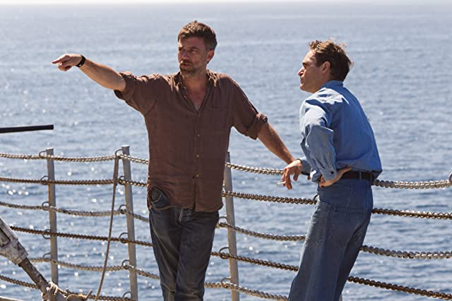 Paul Thomas Anderson and Joaquin Phoenix in The Master (2012)