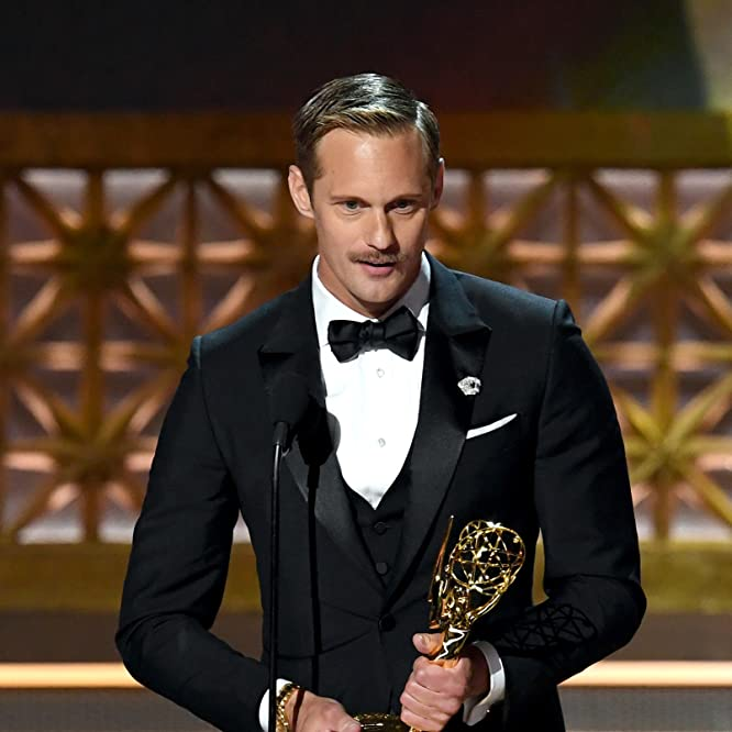 Alexander Skarsgård at an event for The 69th Primetime Emmy Awards (2017)