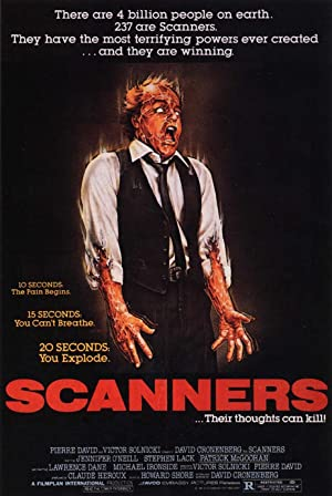 Scanners poster