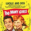 Desi Arnaz and Lucille Ball in Too Many Girls (1940)