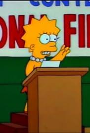 Mr. Lisa Goes to Washington Poster