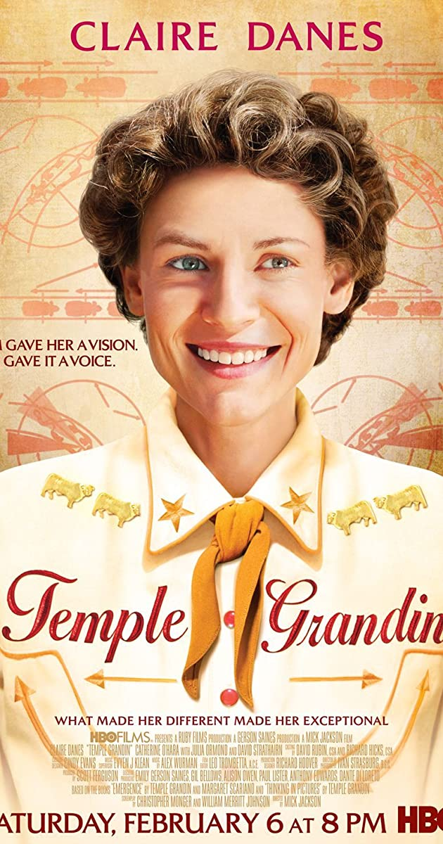 an analysis of temple grandin a 2010 biopic film by mick jackson