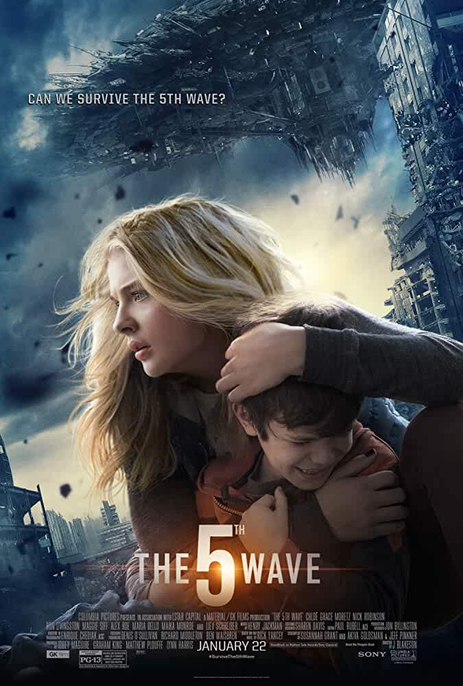 Poster The 5Th Wave 2016 Full HD Movie Download Free 720p