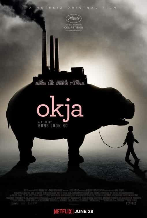 Poster Okja (2017) Full Movie in Hindi Dubbed Download 720p Dual Audio