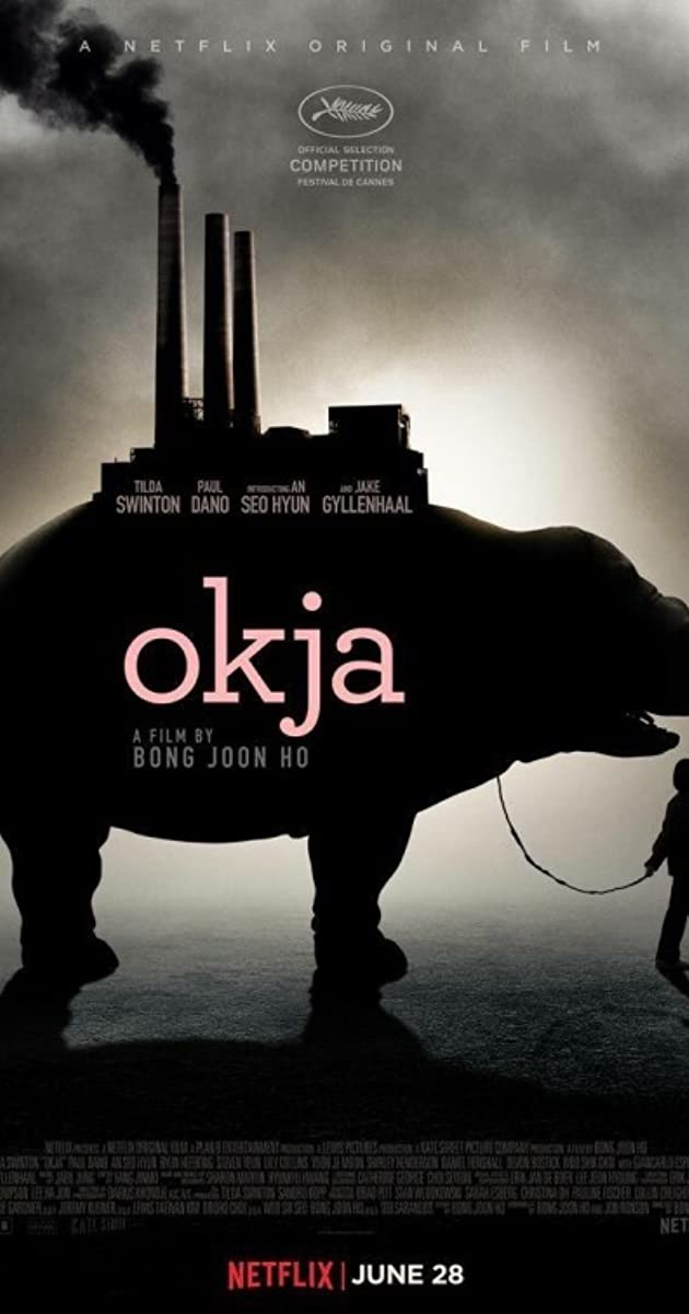 Image result for okja movie poster