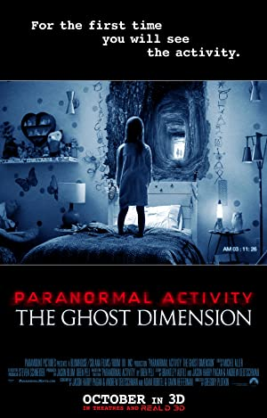 Paranormal Activity: The Ghost Dimension (2015) (Hindi) Download on Vidmate