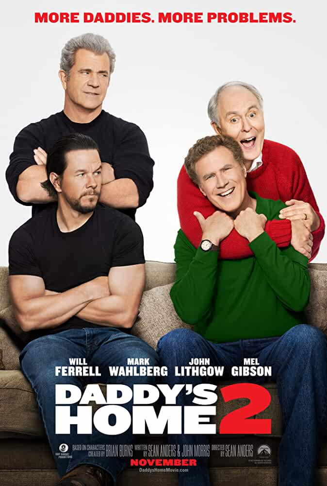 Daddys Home 2 2017 English 720p HDCAM full movie watch online freee download at movies365.cc