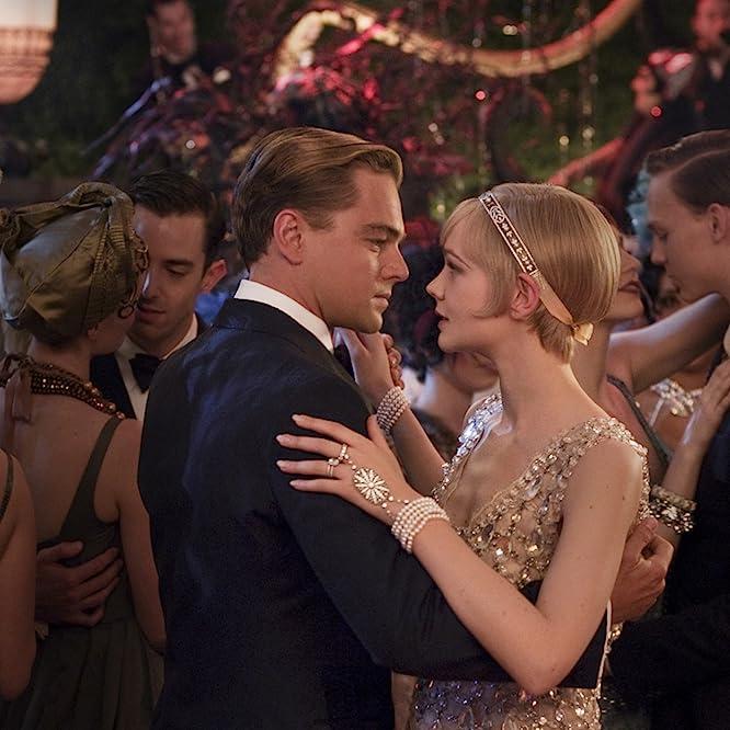 Leonardo DiCaprio and Carey Mulligan in The Great Gatsby (2013)