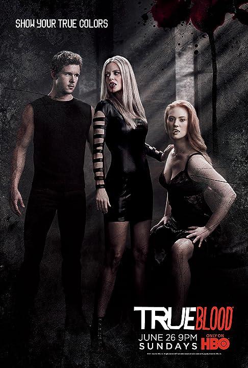 Kristin Bauer van Straten, Ryan Kwanten, and Deborah Ann Woll in True Blood (2008)