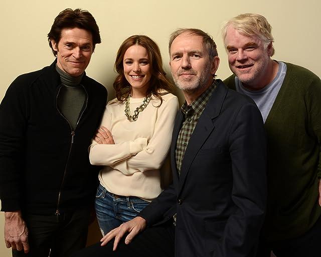 Willem Dafoe, Philip Seymour Hoffman, Anton Corbijn, and Rachel McAdams