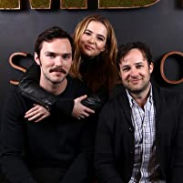 Nicholas Hoult, Danny Strong, and Zoey Deutch