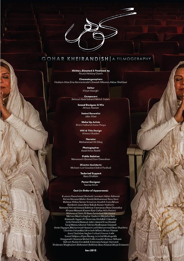Gohar Kheirandish a Filmography